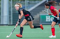 AMSTELVEEN  -Zoe Admiraal (Adam) tijdens de hoofdklasse competitiewedstrijd hockey dames , Amsterdam-Laren (3-0)  , COPYRIGHT KOEN SUYK