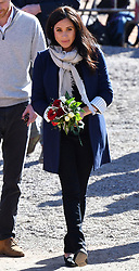 Prince Harry, Duke of Sussex, and Meghan Markle, Duchess of Sussex, visit an Education For All boarding house on the first day of their three day visit to Morocco, in Asni Town, Atlas Mountains, Morocco, on the 24th February 2019. 24 Feb 2019 Pictured: Meghan Markle, Duchess of Sussex. Photo credit: MEGA TheMegaAgency.com +1 888 505 6342