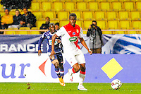Uwa Echiejile Elderson  - 21.01.2015 - Monaco / Evian Thonon   - Coupe de France 2014/2015<br /> Photo : Sebastien Nogier / Icon Sport