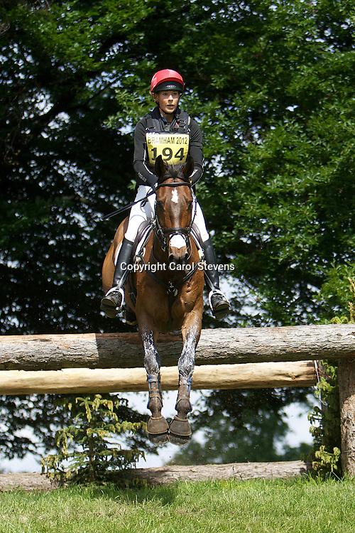 Equi-Trek Bramham International Horse Trials 2012  CIC3*<br /> Lucy Jackson and Animator II (NZL)