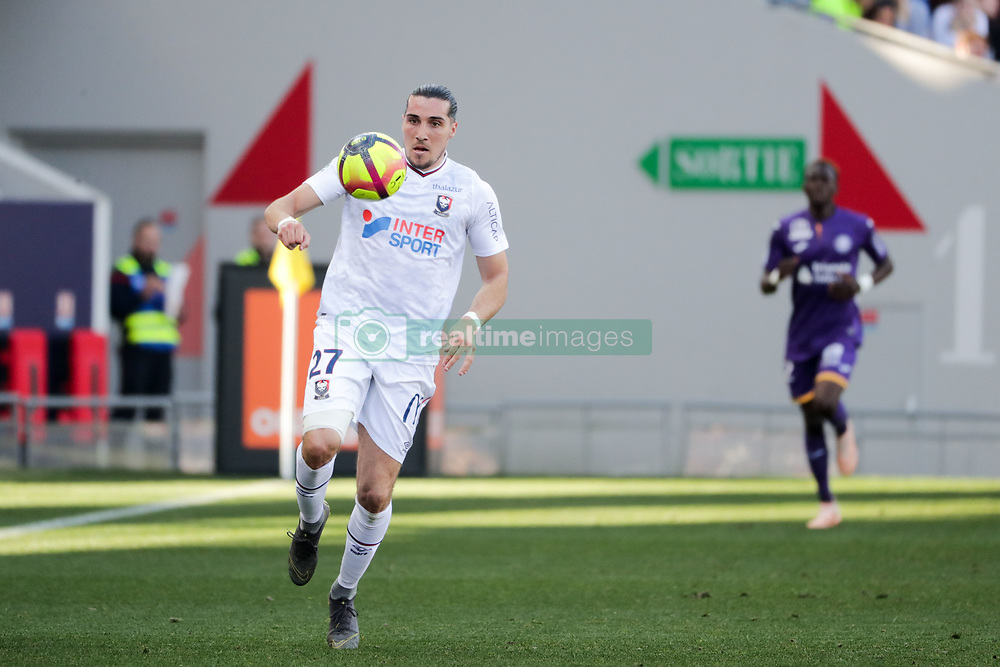 February 24, 2019 - Toulouse, France - 27 ENZO CRIVELLI  (Credit Image: © Panoramic via ZUMA Press)