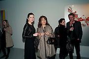 ; JAMILA ASKAROVA; ZARIFA ASKAROVA<br /> , Fired Up, Exhibition of work by Joe Clark, Lauren Cotton, Rory McCartney, David Jones and Farid Rasulov. Gazelli Art House. Wakefield st. London. WC1. 10 February 2011. -DO NOT ARCHIVE-© Copyright Photograph by Dafydd Jones. 248 Clapham Rd. London SW9 0PZ. Tel 0207 820 0771. www.dafjones.com.