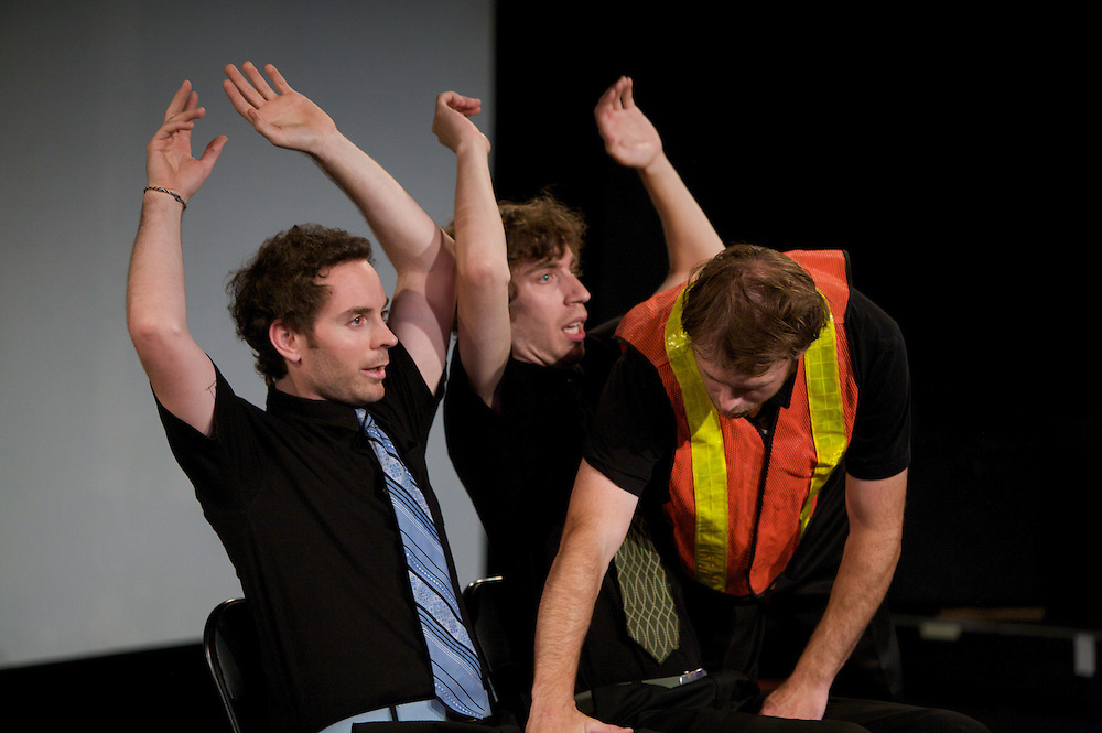 The Imponderables perform in Best Of Sketch at the 2009 Zoofest as part of Just For Laughs in Montreal, Canada