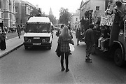 Police Van vs Ravers Van,  3rd Criminal Justice March,  London, 9th of October, 1994