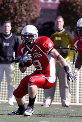28 October 2006: Tom Nelson.&#xD;Youngstown State turned off over 15,000 fans as the win blew their way, cooling off Illinois State 27-13. Nationally ranked teams Youngstown State Penguins and Illinois State Redbirds competed at Hancock Stadium on the campus of Illinois State University in Normal Illinois.<br />