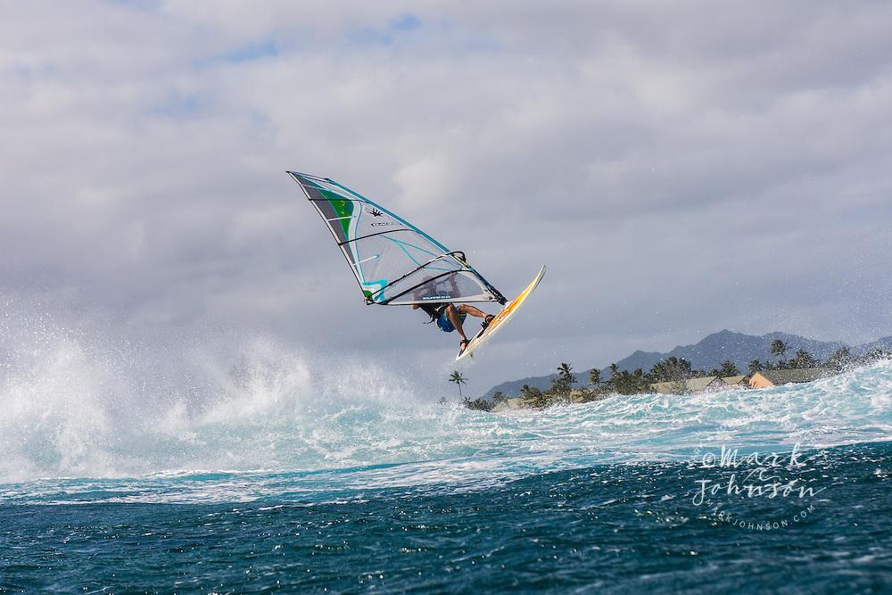 Windsurfing in Hawaii