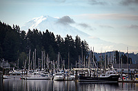 Morning light at Gig Harbor, Washington, USA