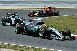 May 15, 2017 - Montmelo, Spanien - 170514 Lewis Hamilton, GBR under Spaniens Grand Prix den 13 maj 2017 i Barcelona  (Credit Image: © Patrik Lundin/Bildbyran via ZUMA Wire)