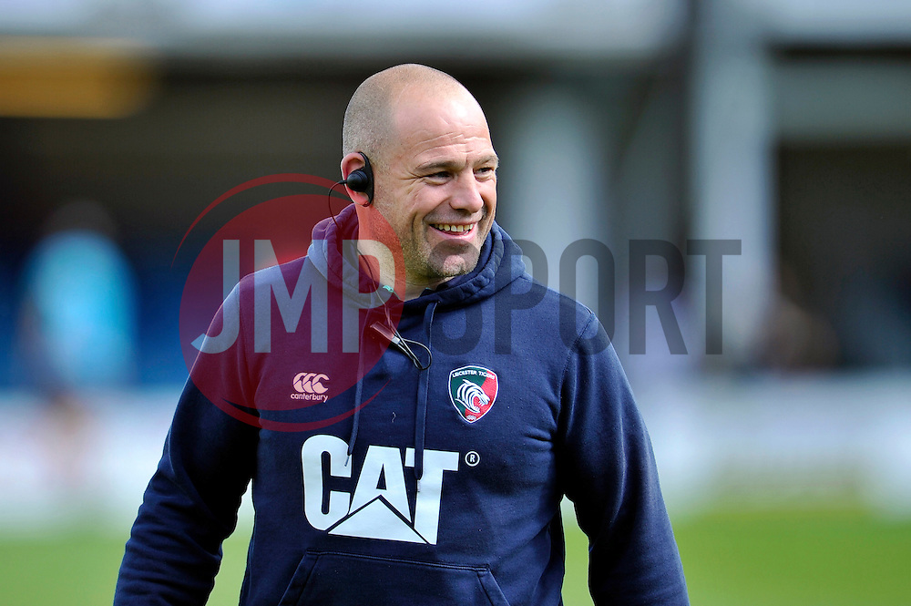Leicester Tigers Director of Rugby Richard Cockerill looks on - Photo mandatory by-line: Patrick Khachfe/JMP - Mobile: 07966 386802 23/05/2015 - SPORT - RUGBY UNION - Bath - The Recreation Ground - Bath Rugby v Leicester Tigers - Aviva Premiership Semi-Final