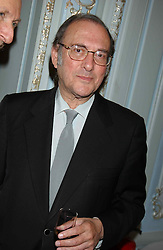 SIR HAROLD PINTER at a party to celebrate the publication of 'Princesses' the six daughters of George 111 by Flora Fraser held at the Saville Club, Brook Street, London W1 on 14th September 2004.<br /><br />NON EXCLUSIVE - WORLD RIGHTS