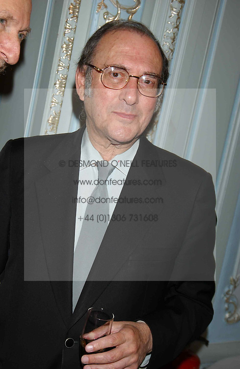 SIR HAROLD PINTER at a party to celebrate the publication of 'Princesses' the six daughters of George 111 by Flora Fraser held at the Saville Club, Brook Street, London W1 on 14th September 2004.<br />