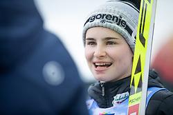 KRIZNAR Nika (SLO) celebrates after FIS Ski Jumping World Cup Ladies Ljubno 2020, on February 23th, 2020 in Ljubno ob Savinji, Ljubno ob Savinji, Slovenia. Photo by Matic Ritonja / Sportida