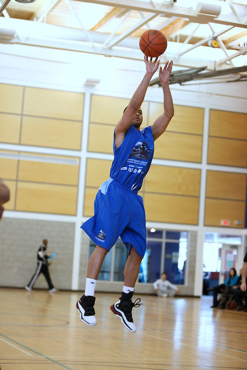 Haiti All-Stars vs. Montreal All-Stars!..On Sunday February 14th 2010 the BIEC alumni community along with partners from the Haitian community, the Montreal Alouettes and AK recreation put on a charity basketball game to raise money for the Haitian relief fund.  A team of BIEC alumni as well as semi-pros and Alouettes challenged the Haitian all-star team. The visiting Haitian All-Stars won the match and fun was had by all...The Bronfman Experience Centre