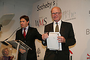 ROSS WESTGATE AND MARCUS GREGSON, Spear's Wealth Management High-Net-Worth Awards. Sotheby's. 10 July 2007.  -DO NOT ARCHIVE-© Copyright Photograph by Dafydd Jones. 248 Clapham Rd. London SW9 0PZ. Tel 0207 820 0771. www.dafjones.com.