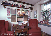 Real estate, historic house,early American decor