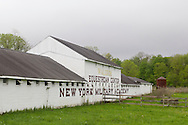 Cornwall-on-Hudson, New York - The stables on the campus of New York Military Academy on May 15, 2014. NYMA is a college preparatory military co-educational boarding and day school for students in grades 7-12.