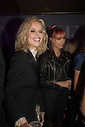 EVA HERZIGOVA; AMBER LEBON,, Vogue100 A Century of Style. Hosted by Alexandra Shulman and Leon Max. National Portrait Gallery. London. WC2. 9 February 2016.