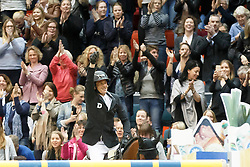 Guerdat Steve, (SUI), Corbinian<br /> Longines FEI World Cup Jumping Part III - Goteborg 2016<br /> © Hippo Foto - Dirk Caremans<br /> 28/03/16