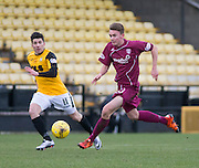 Arbroath&rsquo;s Jamie Henry and East Fife&rsquo;s Kyle Wilkie - East Fife v Arbroath, SPFL League Two at New Bayview<br /> <br />  - &copy; David Young - www.davidyoungphoto.co.uk - email: davidyoungphoto@gmail.com