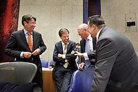 Nederland. Den Haag, 27 oktober 2010.<br /> De Tweede Kamer debatteert over de regeringsverklaring van het kabinet Rutte.<br /> <br /> Kabinet Rutte, regeringsverklaring, tweede kamer, politiek, democratie. regeerakkoord, gedoogsteun, minderheidskabinet, eerste kabinet Rutte, Rutte1, Rutte I, debat, parlement<br /> Foto Martijn Beekman