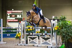 De Clercq Bo, BEL, Champion's Double<br /> Nationaal Indoor Kampioenschap Pony's LRV <br /> Oud Heverlee 2019<br /> © Hippo Foto - Dirk Caremans<br /> 09/03/2019