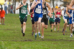 2012 High School Western Maine Regional Cross Country Championships, Class B Boys race