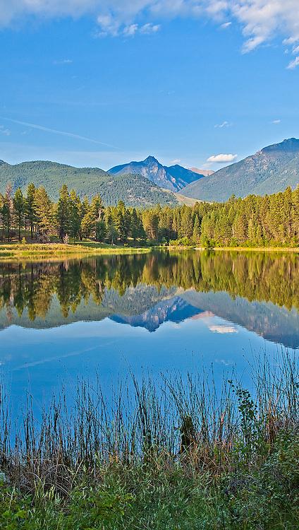Lake at Campbell Meyer area.  British Columbia, Canada.