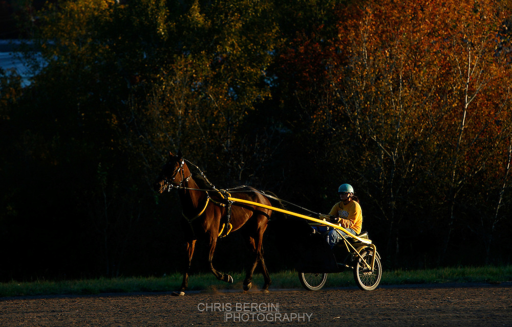 Monticello Raceway, a harness racing track in Monticello, New York.