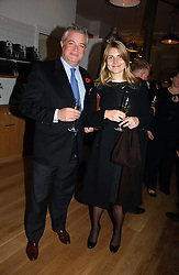 GAVIN RANKIN and JODIE WALDRON at the opening party for Tom's Kitchen - the restaurant of Tom Aikens at 27 Cale Street, London SW3 on 1st November 2006.<br />