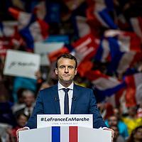 Emmanuel Macron à Lyon - Palais des Sports