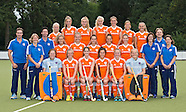 2013 Jong Oranje Dames voor WK