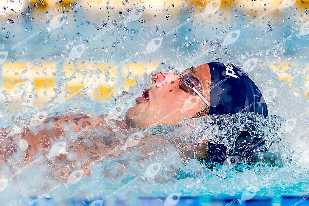MILLI  Matteo ITA <br /> 100 backstroke men heats<br /> day 02  24-06-2017<br /> Stadio del Nuoto, Foro Italico, Roma<br /> FIN 54mo Trofeo Sette Colli 2017 Internazionali d'Italia<br /> <br /> Photo Giorgio Scala/Deepbluemedia/Insidefoto