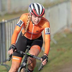 04-11-2018: Wielrennen: EK veldrijden: Rosmalen <br />Inge van der Heidjen