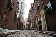 Snowy afternoon walk - Boston, MA.