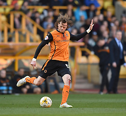 Wolves' Richard Stearman in action during the Sky Bet Championship match between Wolverhampton Wanderers and Watford at Molineux Stadium on 7 March 2015 in Wolverhampton, England - Photo mandatory by-line: Paul Knight/JMP - Mobile: 07966 386802 - 07/03/2015 - SPORT - Football - Wolverhampton - Molineux Stadium - Wolverhampton Wanderers v Watford - Sky Bet Championship