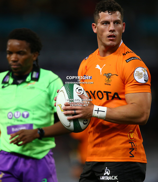 DURBAN, SOUTH AFRICA - SEPTEMBER 10: Shaun Venter of the Toyota Free State Cheetahs during the Currie Cup match between the Cell C Sharks and Toyota Cheetahs at Growthpoint Kings Park on September 10, 2016 in Durban, South Africa. (Photo by Steve Haag/Gallo Images)