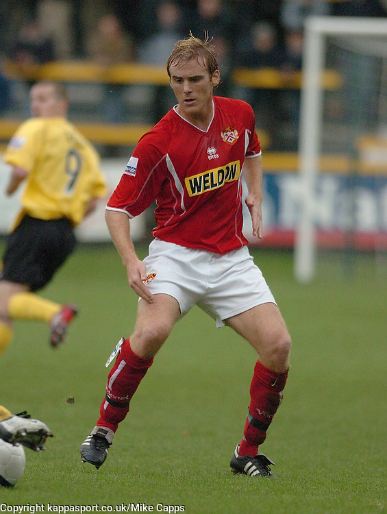 BRETT SOLKHON KETTERING TOWN, Southport v Kettering Town Conference Saturday 28th October 2006