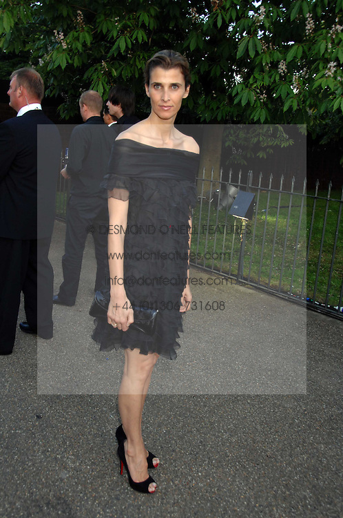 PRINCESS KYRIL OF BULGARIA  at the annual Serpentine Gallery Summer Party in association with Swarovski held at the gallery, Kensington Gardens, London on 11th July 2007.<br />