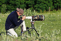 Nature Photographer Konrad Wothe working for Wild Wonders of Europe, Slovakia