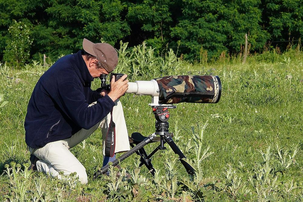 Nature Photographer Konrad Wothe working for Wild Wonders of Europe, Slovakia