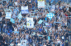 October 20, 2018 - Rome, Italy - AS Roma v Spal - Serie A.Spal supporters celebration at Olimpico Stadium in Rome, Italy on October 20, 2018. (Credit Image: © Matteo Ciambelli/NurPhoto via ZUMA Press)