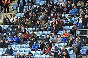 Wycombe Wanderers fans and supporters during the EFL Sky Bet League 2 match between Coventry City and Wycombe Wanderers at the Ricoh Arena, Coventry, England on 22 December 2017. Photo by Alan Franklin.