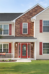 593_Summer_Lake stone siding house front