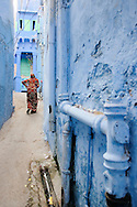 Woman at the streets of Jodhpur
