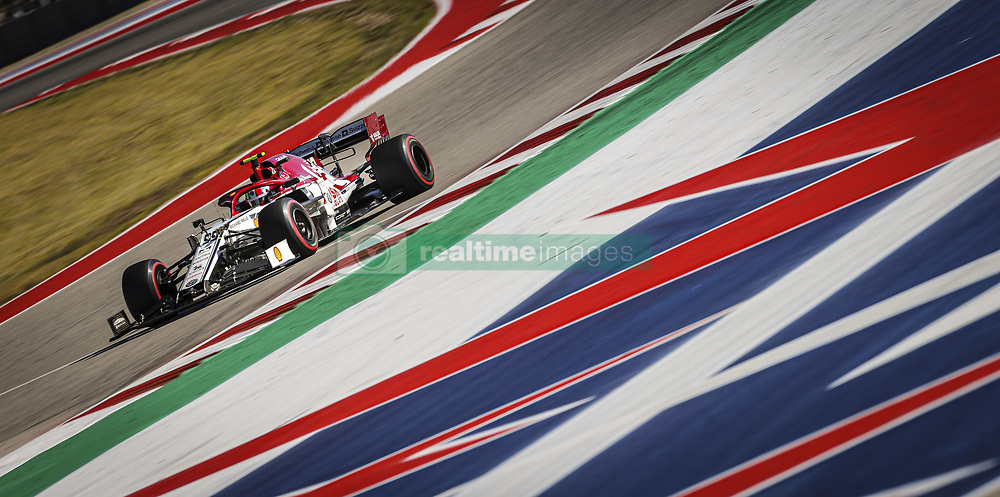 November 3, 2019, Austin, United States of America: Motorsports: FIA Formula One World Championship 2019, Grand Prix of United States, ..#99 Antonio Giovinazzi (ITA, Alfa Romeo Racing) (Credit Image: © Hoch Zwei via ZUMA Wire)