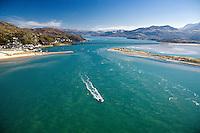 Barmouth<br /> Mawddach Estuary<br /> Snowdonia<br /> Aerial<br /> Mid<br /> Scenery