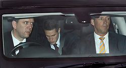 © Licensed to London News Pictures. 12/12/2018. London, UK. Defence Secretary GAVIN WILLIAMSON (centre) is seen leaving Parliament in Westminster as Prime Minister Theresa May faces a vote of no confidence from her own party. Photo credit: Ben Cawthra/LNP