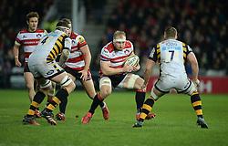 Matt Kvesic of Gloucester Rugby - Mandatory by-line: Alex James/JMP - 19/11/2016 - RUGBY - Kingsholm - Gloucester, England - Gloucester Rugby v Wasps - Aviva Premiership