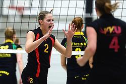 12-12-2015 NED: Prima Donna Kaas Huizen - VV Utrecht, Huizen<br /> In de Topdivisie verslaat PDK Huizen vv Utrecht met 3-1 / Lisanne Baak #2
