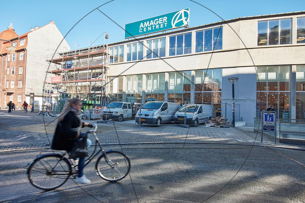 Amagercenteret, registrering før renovering, bygherre: Danica Pension